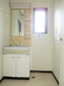 洗面台・室内洗濯機置場